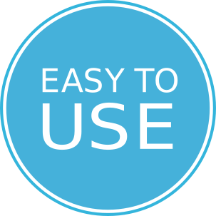 Symbol of easy to use